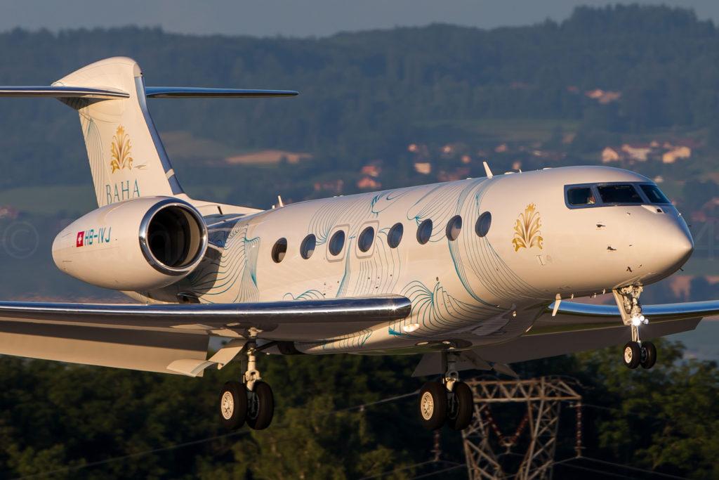 Gulfstream G650/ VCN - ExecuJet Europe GVI