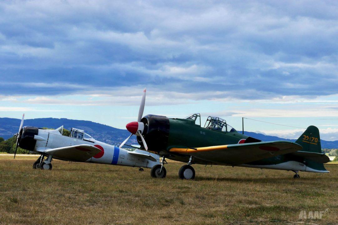 2 North American T6 Zero