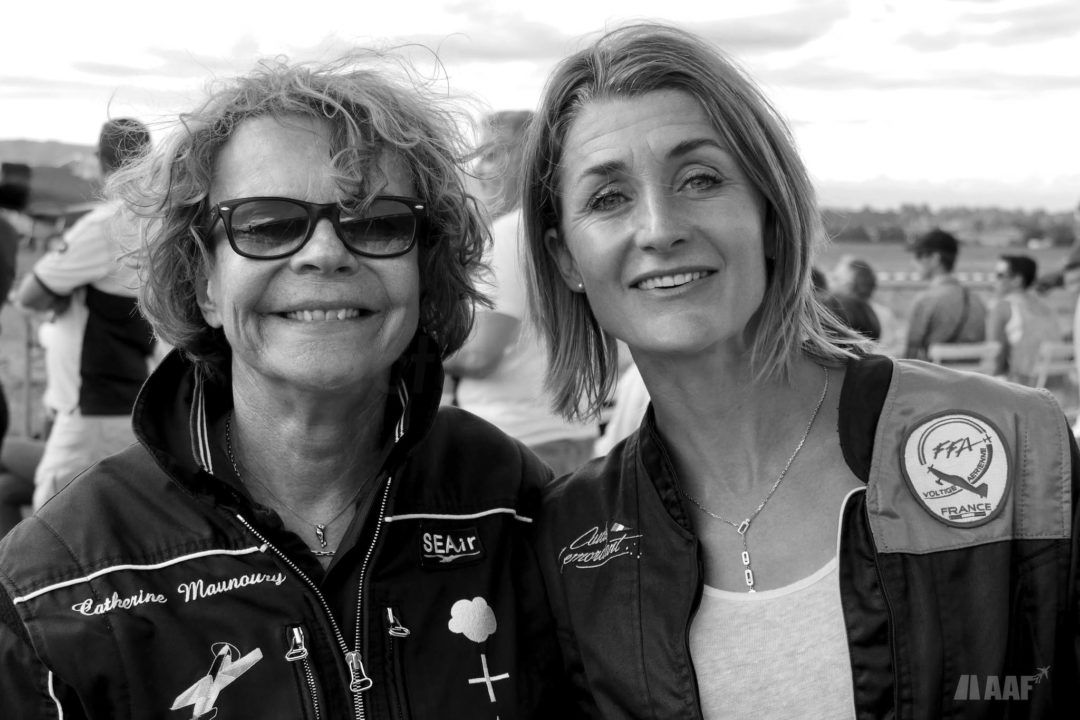 Catherine Maunoury et Aude Lemordant - Doubles Championnes du Monde de voltige