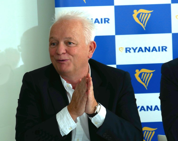 Eddie Wilson, directeur des ressources humaines Ryanair