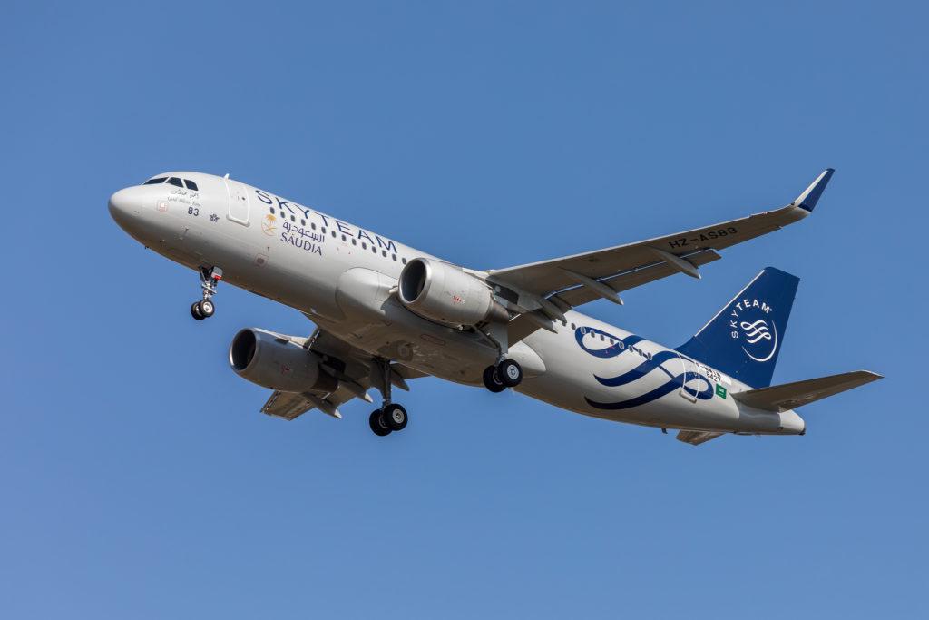 Airbus A320-251N Saudia MSN 8427 / F-WWIM à Toulouse pour son premier vol