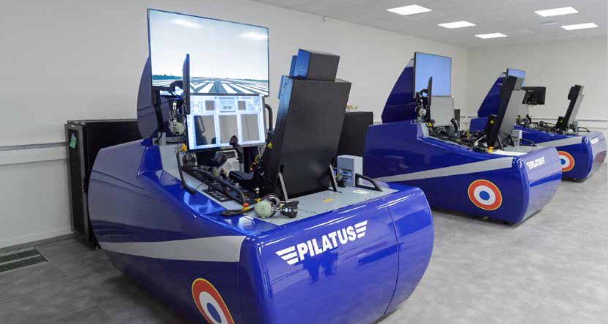 Simulateurs PC-21