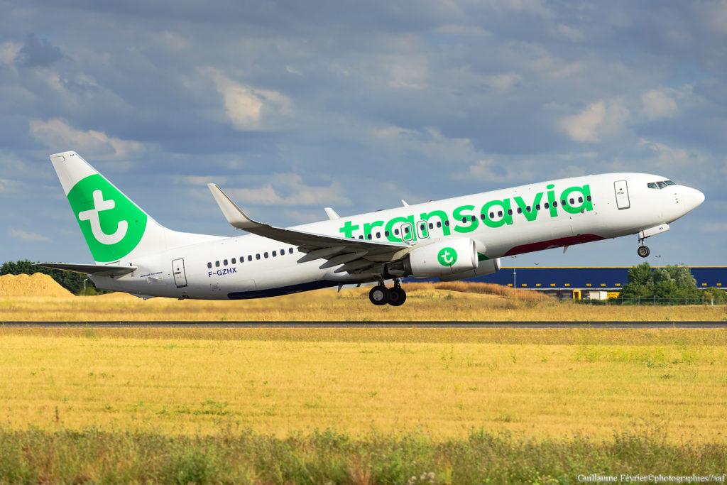 F-GZHX, 737 Transavia