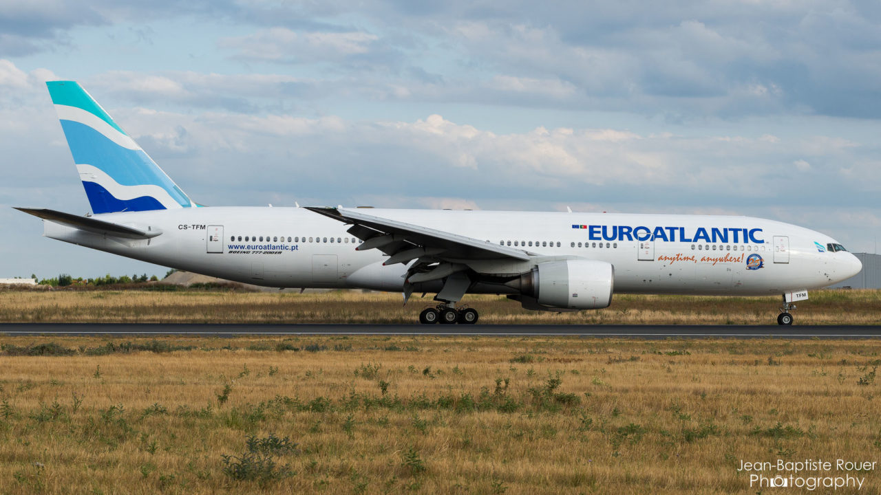 CS-TFM, 777 EuroAtlantic Airways