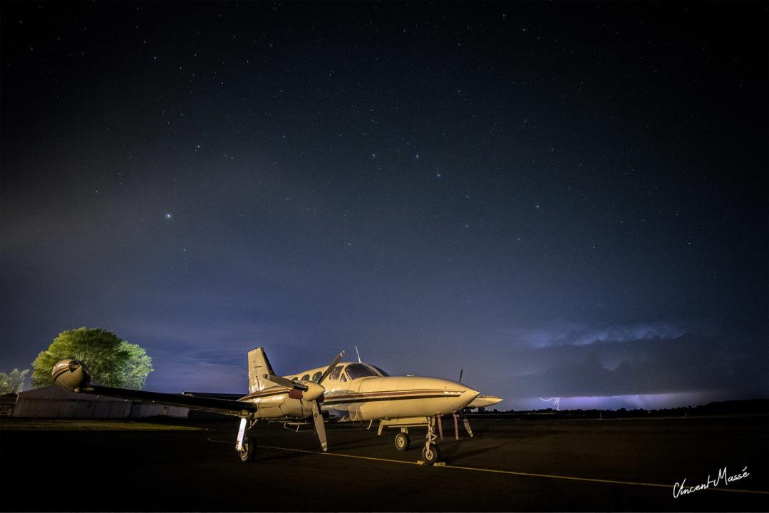 N1YA, Cessna 421