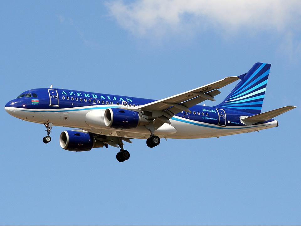 Airbus A319 Azerbaidjan Airlines