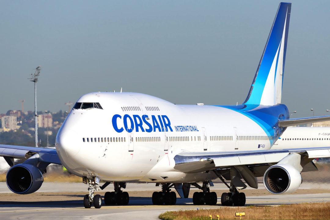 F-HSUN / Boeing 747-400 Corsair