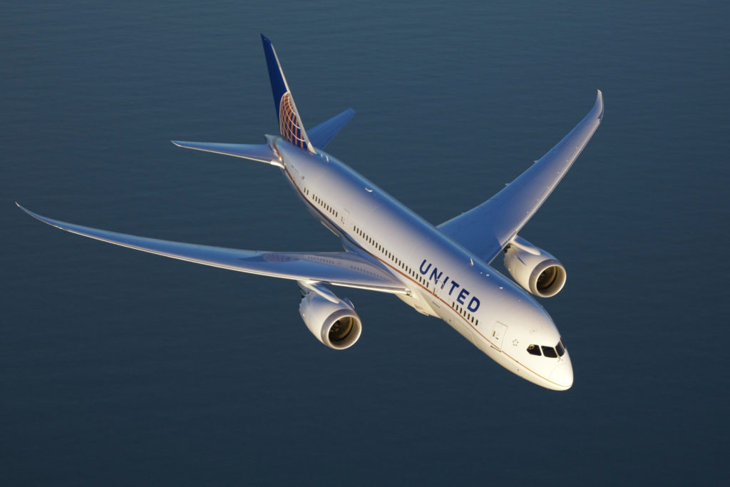 Boeing 787-900 United Airlines