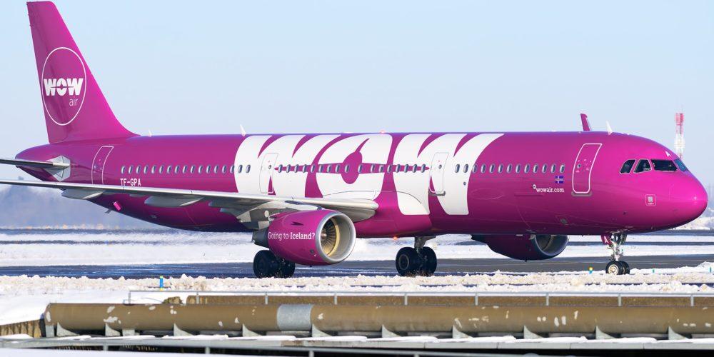 Airbus A321 WOW air TF-GPA
