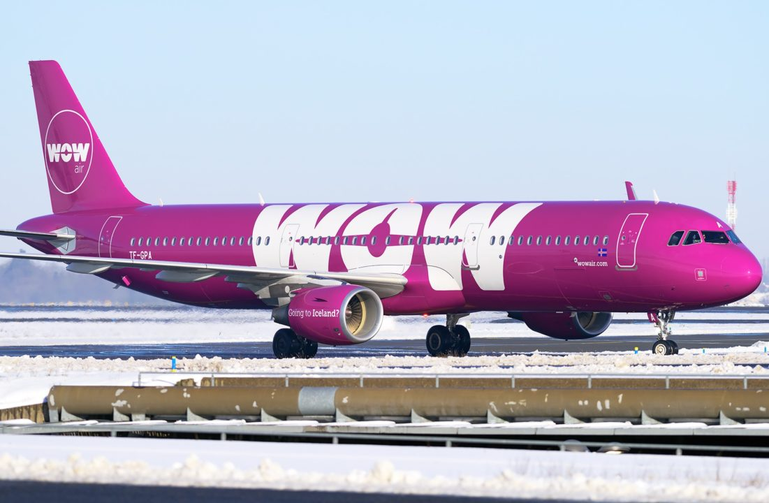 Airbus A321 WOW air TF-GPA