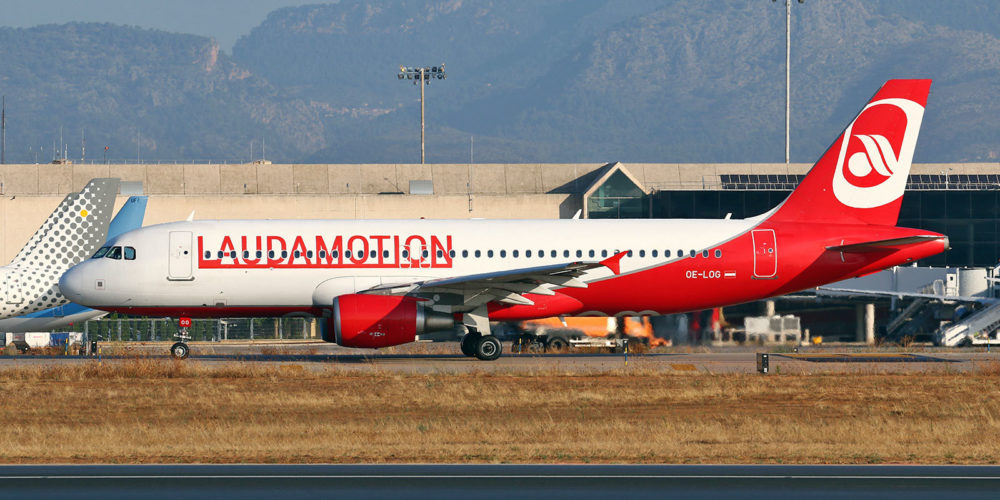 Airbus A320-214 Laudamotion OE-LOG /// s/n 4187