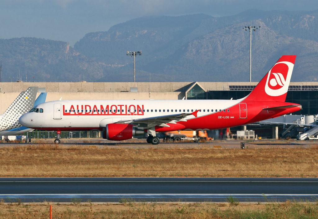 Airbus A320-214 Laudamotion OE-LOG /// s/n 4187