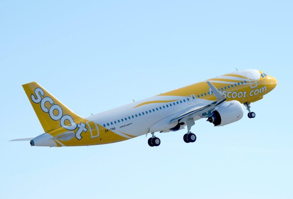 A320neo Scoot - cn 8441 / 9V-TNA