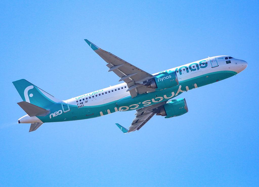 Airbus A320-251N Flynas MSN 8443/ F-WWDF / HZ-NS22
