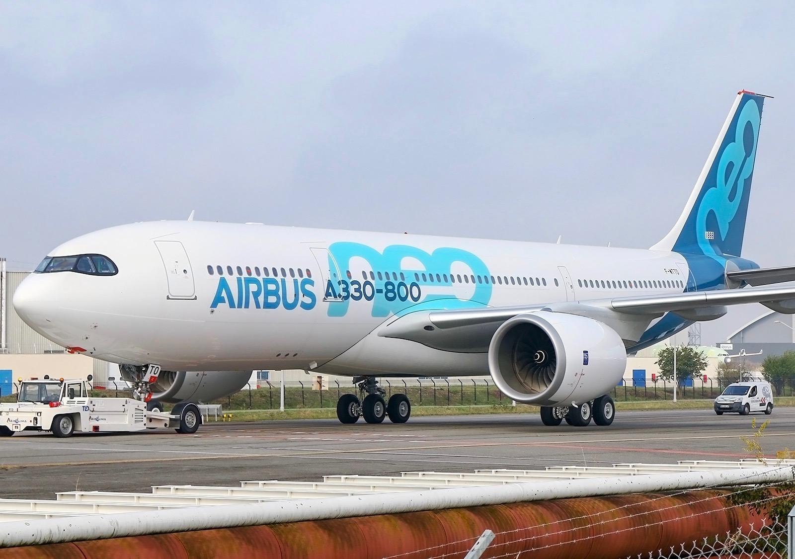 Airbus A330-800 / F-WTTO - MSN1888