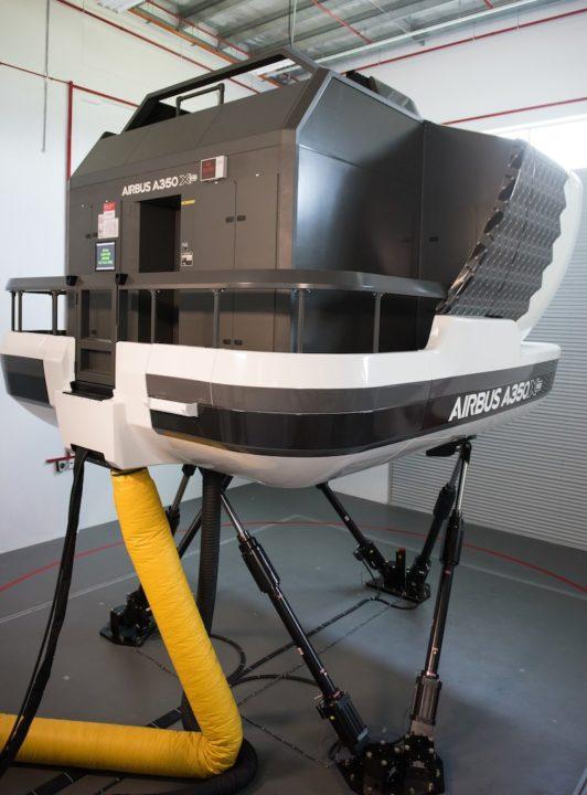 Simulateur A350