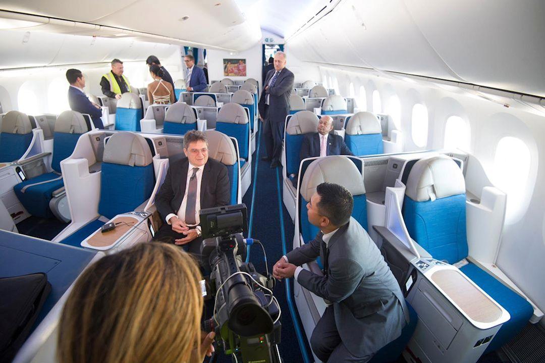 Découverte de la cabine du 787-900 ATN