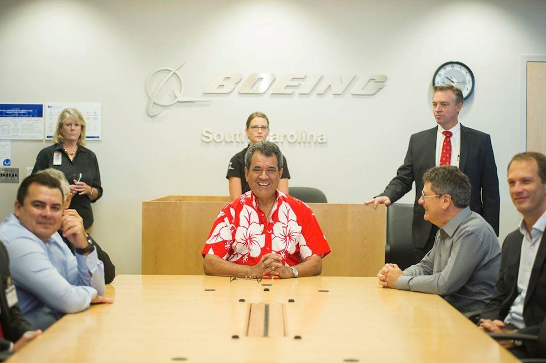 Edouard Fritch, Président de la Polynésie Française