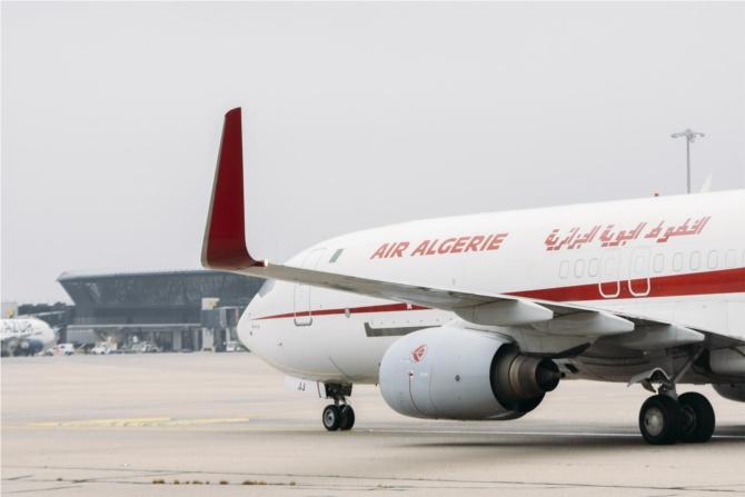 Air Algérie Cargo B737-800BCF, immatriculé 7T-VJJ