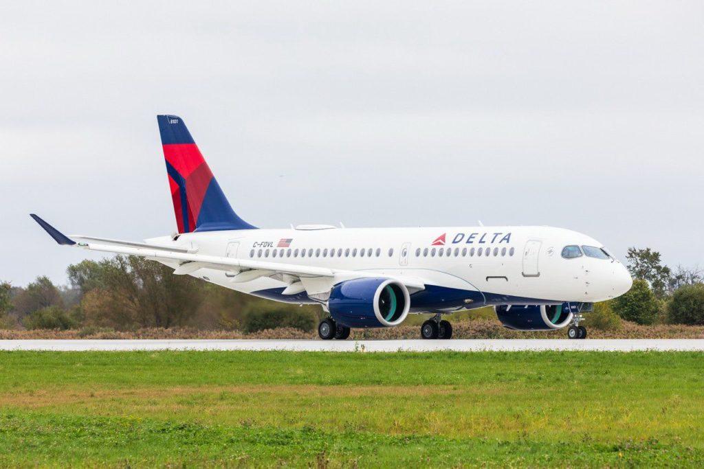 Airbus A220-100 Delta C-FOVL
