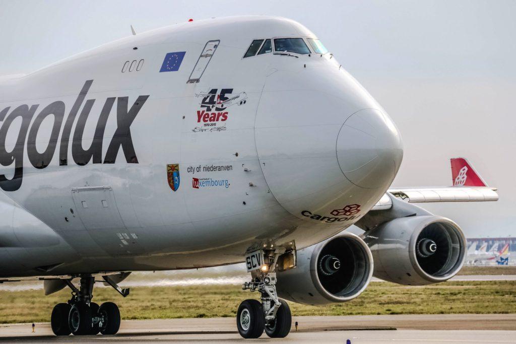 Boeing 747-4R7F Cargolux LX-SCV