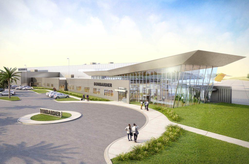 Vue 3D du centre de services dans le comté de Miami-Dade, en Floride