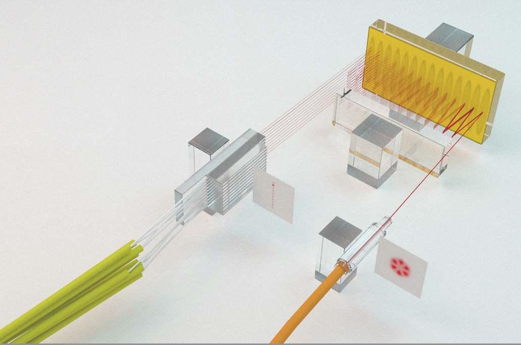 Technologie CAILabs pour additionner les signaux optiques