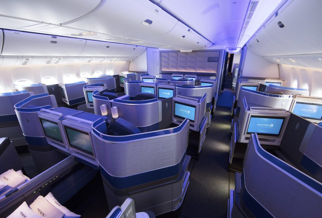 Cabine Affaire United [United Polaris]