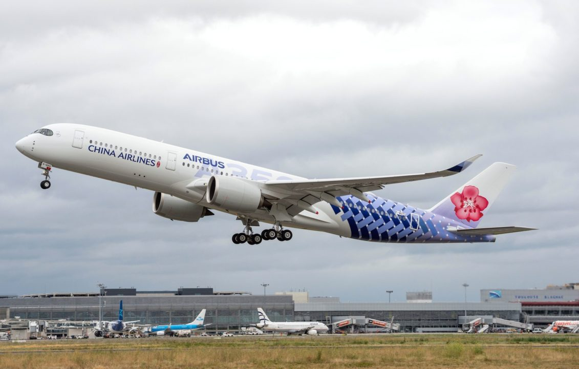 China Airlines A350-900 B-18918 / MSN239