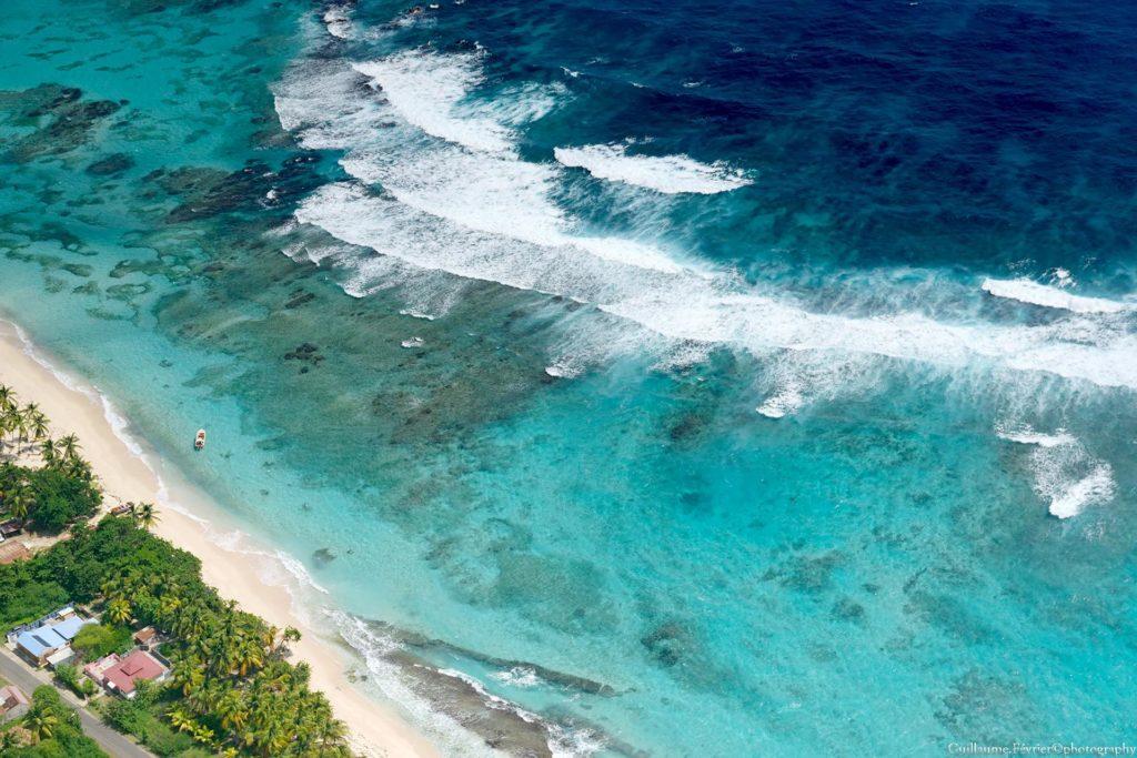 La Désirade, iles française à l'est de la Grande-Terre, en Guadeloupe