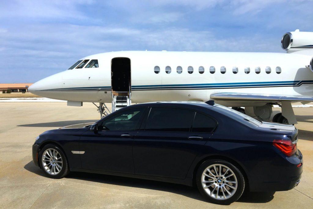 Jet privé avec chauffeur