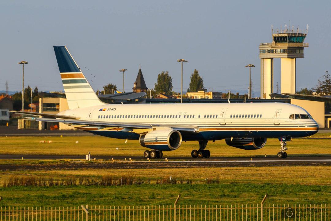 Boeing 757 Privilege style à Clermont Ferrand