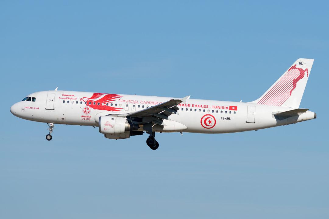 A320 Tunisair livrée spéciale à Orly