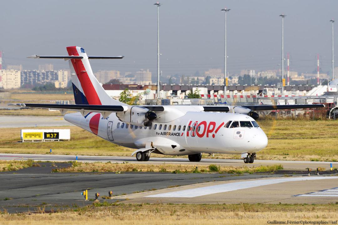 ATR42 Hop! à Orly
