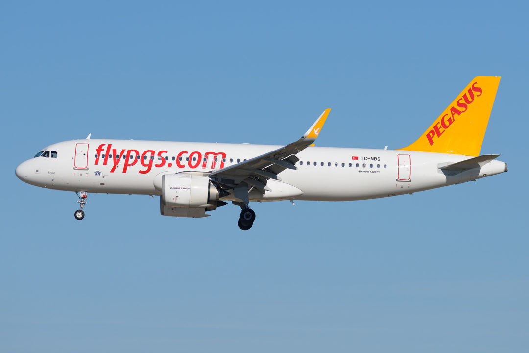 A320 NEO Fly Pegasus à Orly