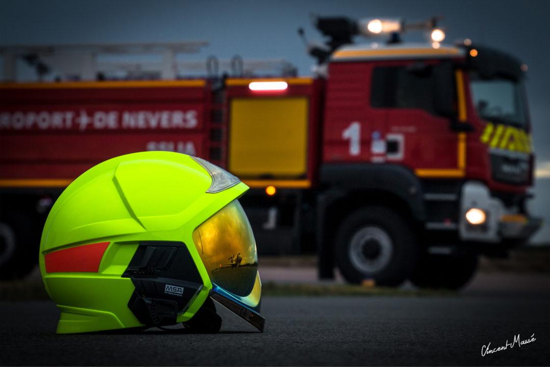 VIM60 du Service de sauvetage et de lutte contre l'incendie des aéronefsde Nevers