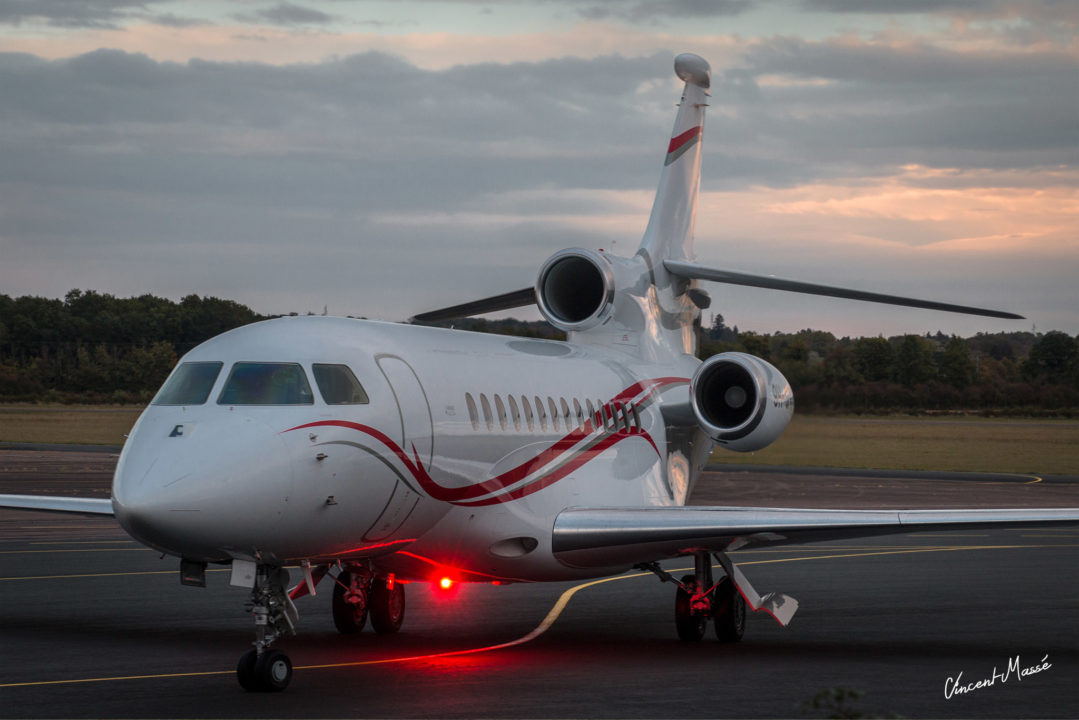Dassault falcon 7X à Nevers