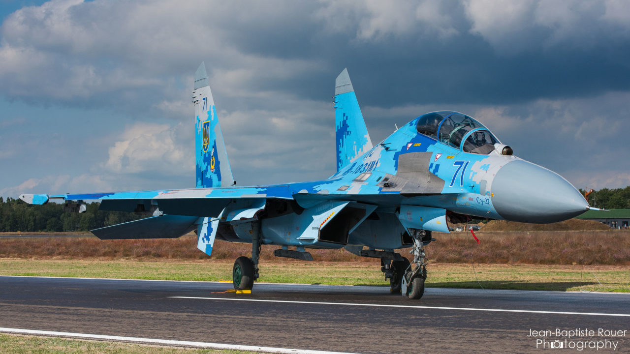 Soukhoï Su-27 de l'ukrainian air force