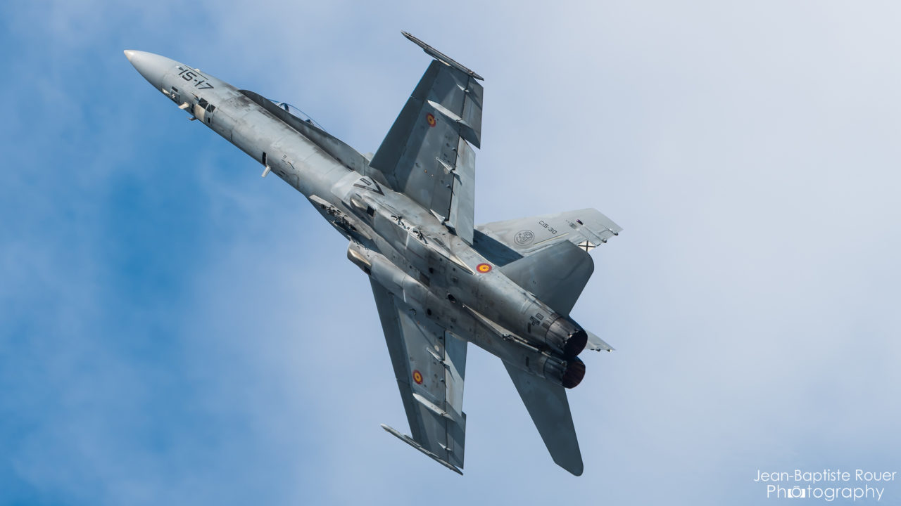 McDonnell Douglas F/A-18 de l' Ejército del aire