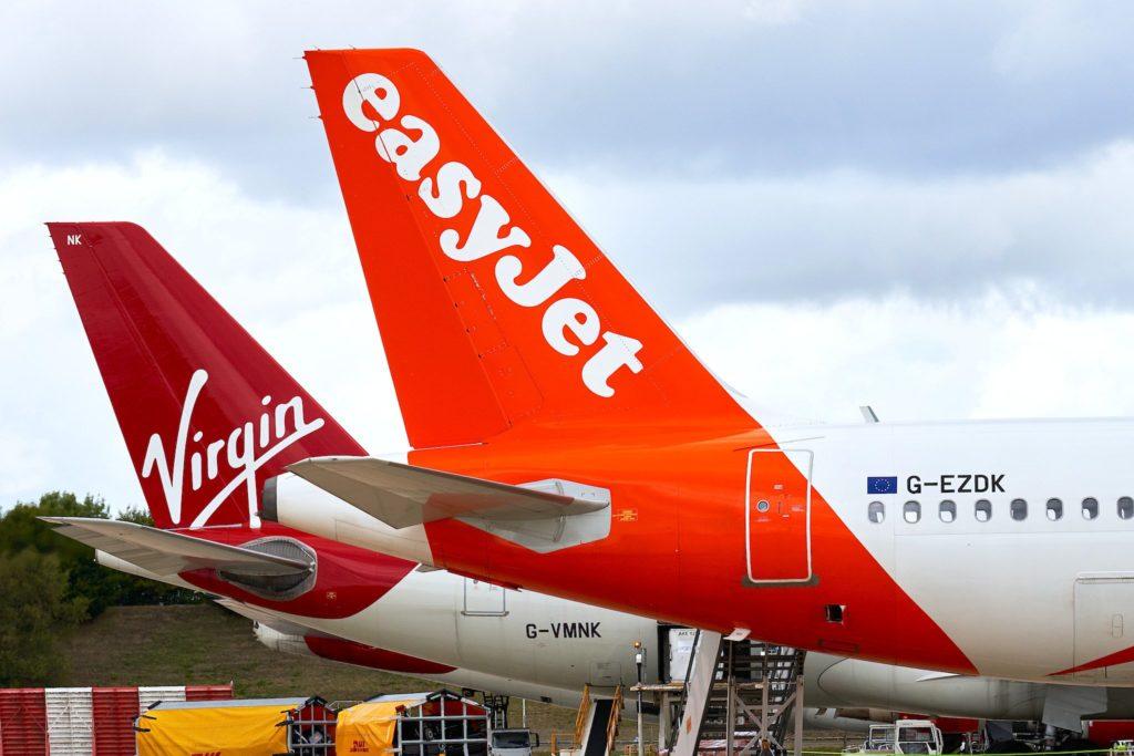 easyJet et Virgin Atlantic