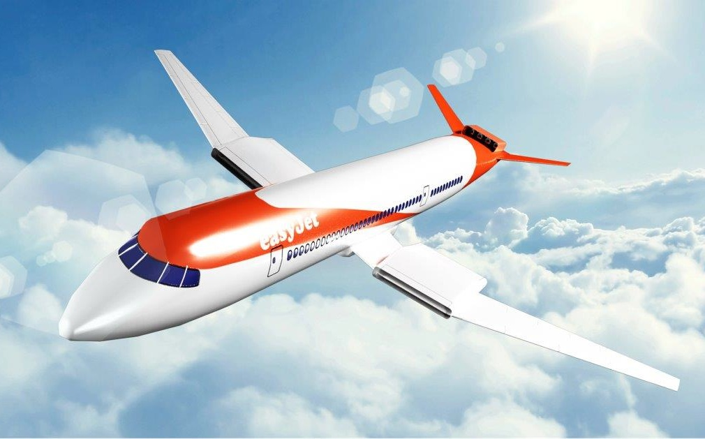 Projet d'avion 150 à 180 places de Wright Electric et easyJEt