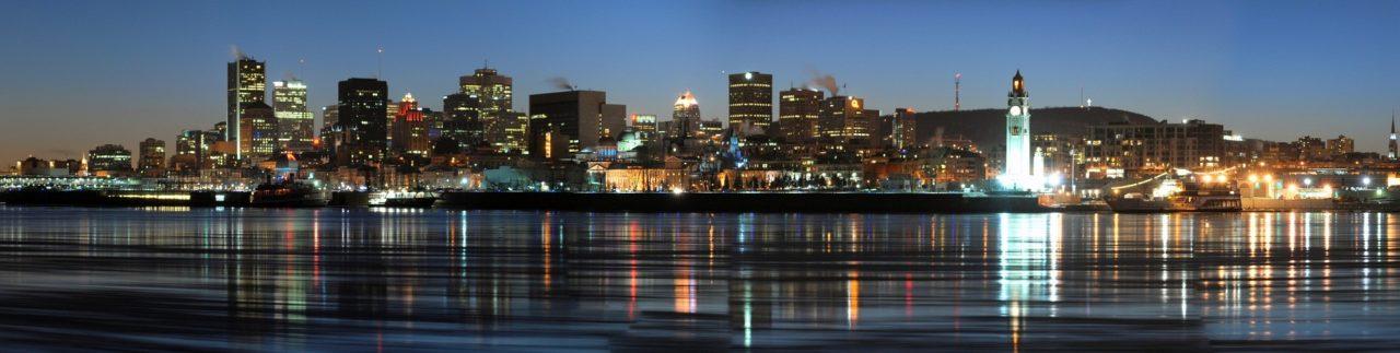 La skyline de Montréal