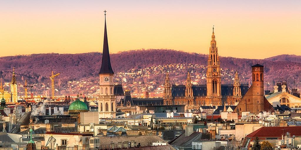 Vue de la ville de Vienne