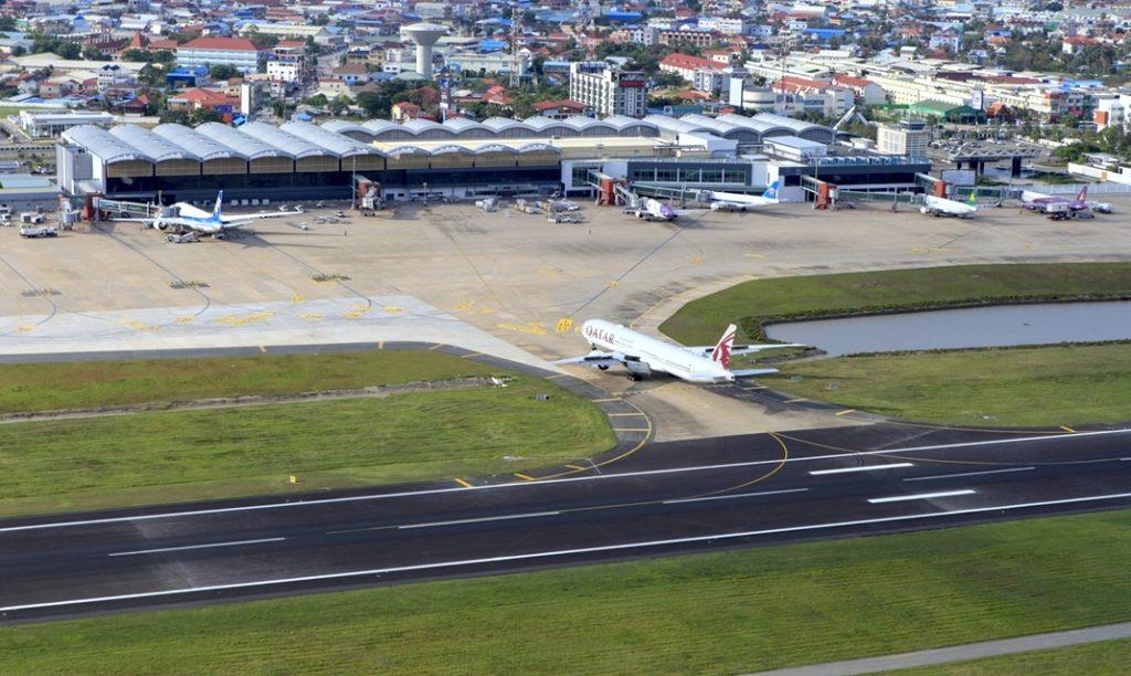 Aéroport de Phnom Penh, capitale du Cambodge