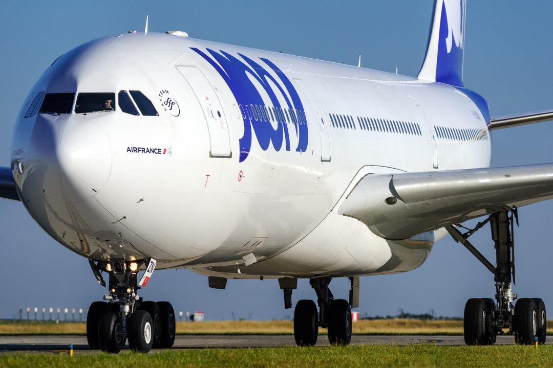 A340-300 Joon F-GLZN