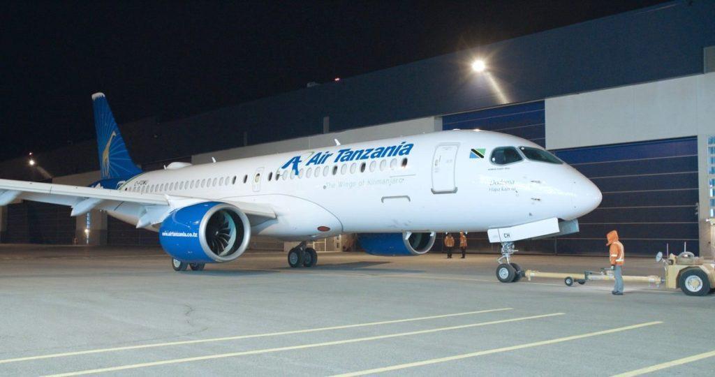 A220-300 Air Tanzania MSN 55047