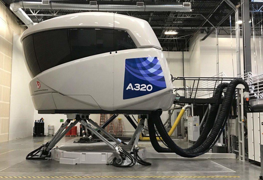 Simulateur FFS A320neo de niveau D à Denver