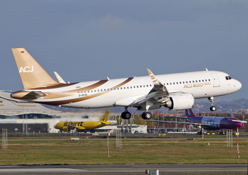 Airbus A320-251N CJ Acropolis Aviation s/n 8403 G-KELT