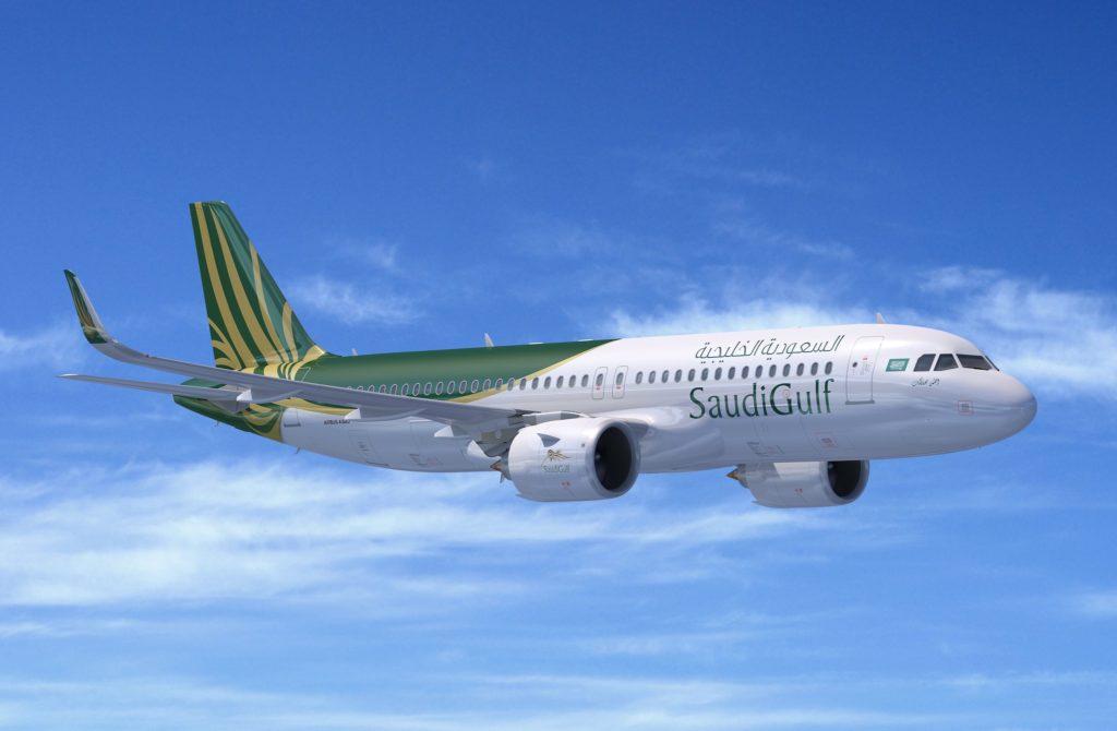 Airbus A320neo SaudiGolf