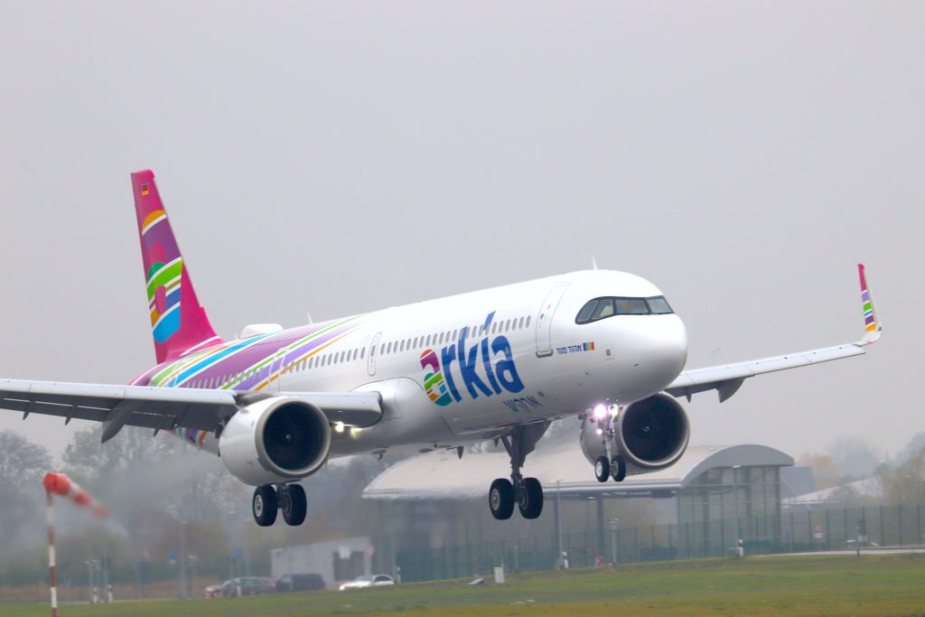 A321LR Arkia /// 4X-AGH